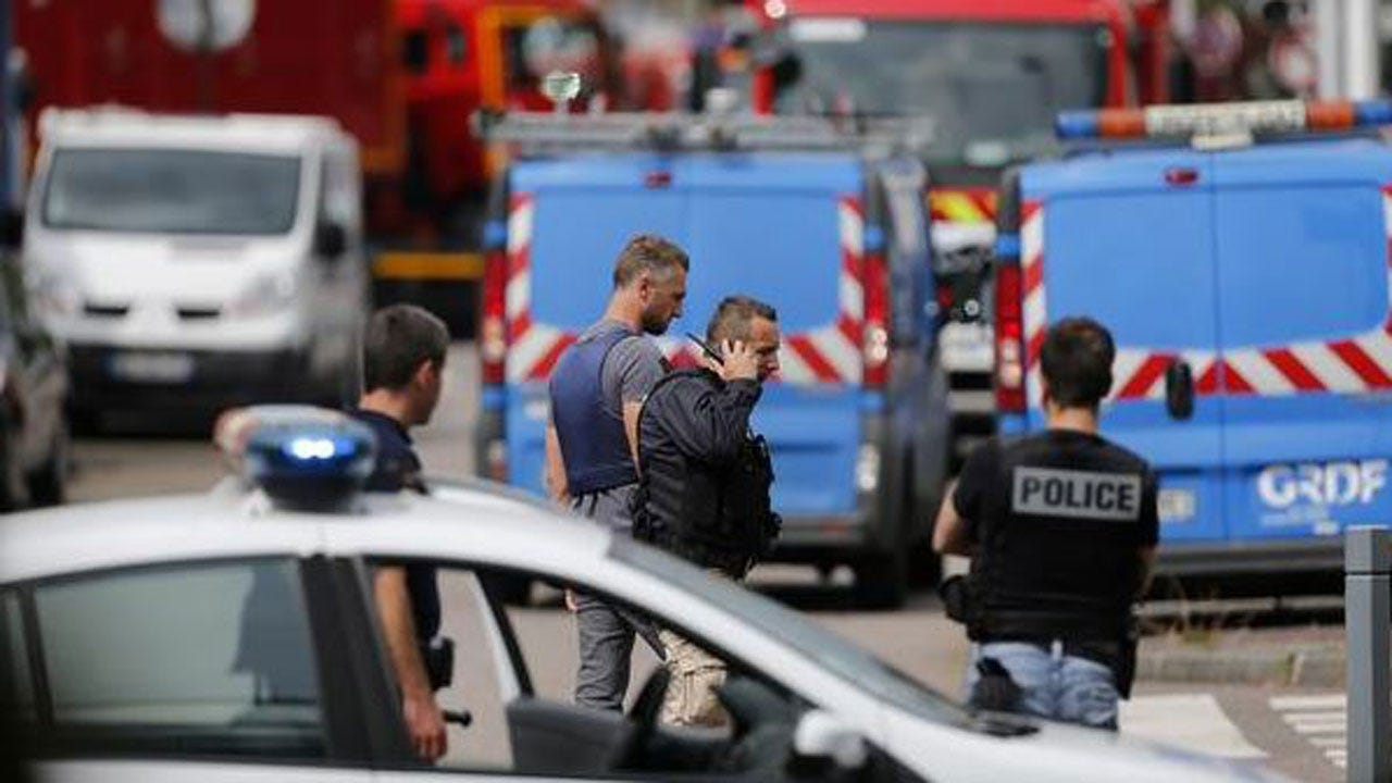 Reports: Hostages Taken At French Church