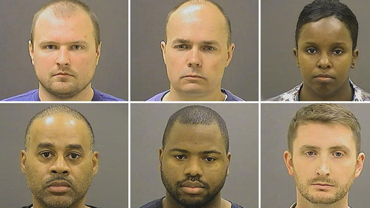 All Charges Dropped Against Officers In Freddie Gray Death