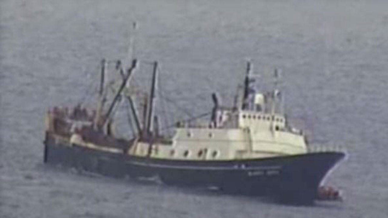 Drama At Sea Off Alaska As Dozens Abandon Sinking Fishing Boat