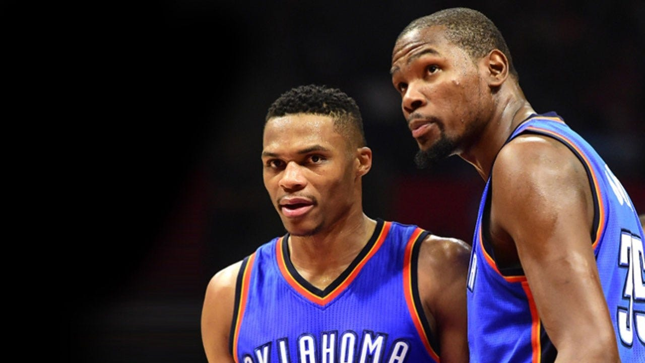 Report: Durant Told Westbrook He Would Re-Sign With Thunder
