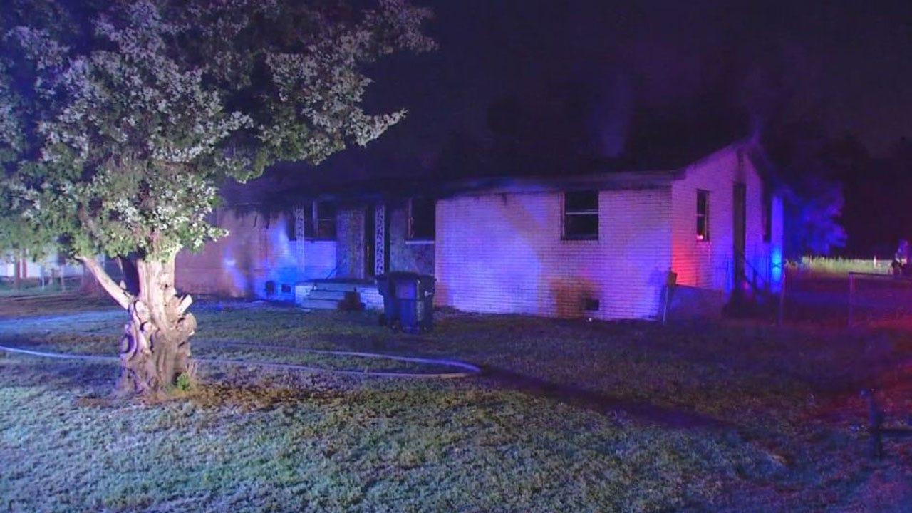 Firefighters Put Out House Fire In West OKC