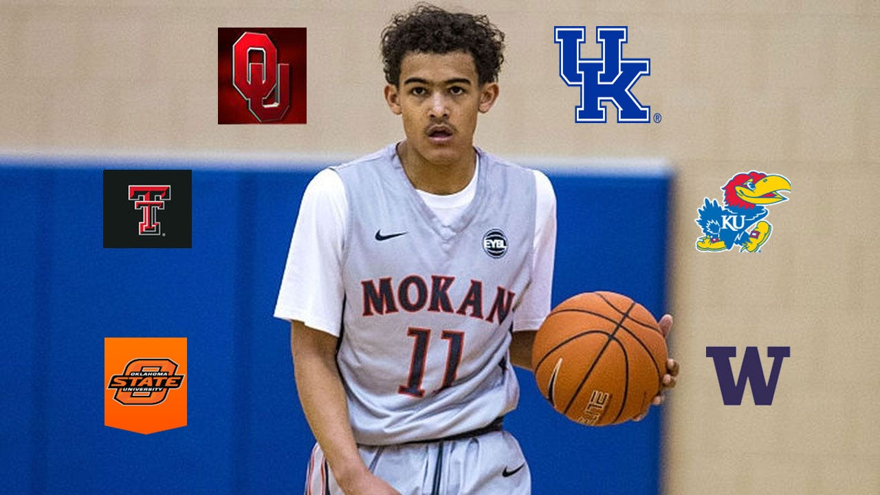 Norman North Star Trae Young Lists OU & OSU In Final Six