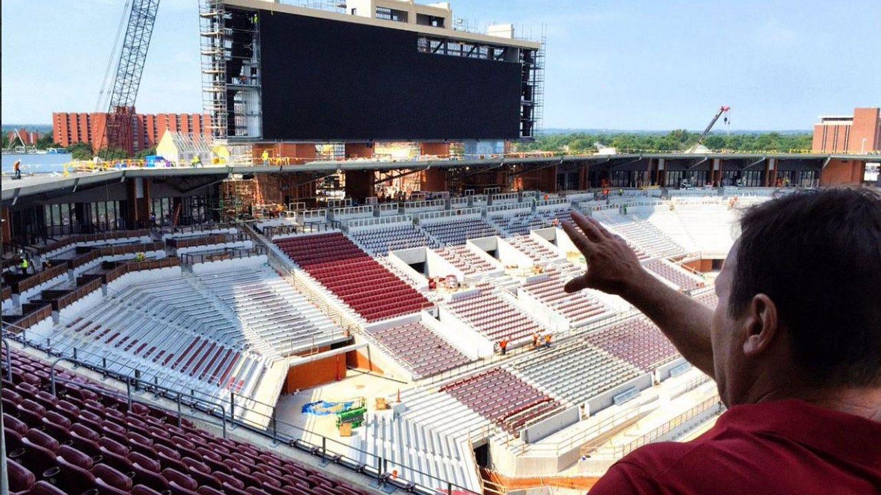 OU Football Coaches Share Photos of Stadium Renovations