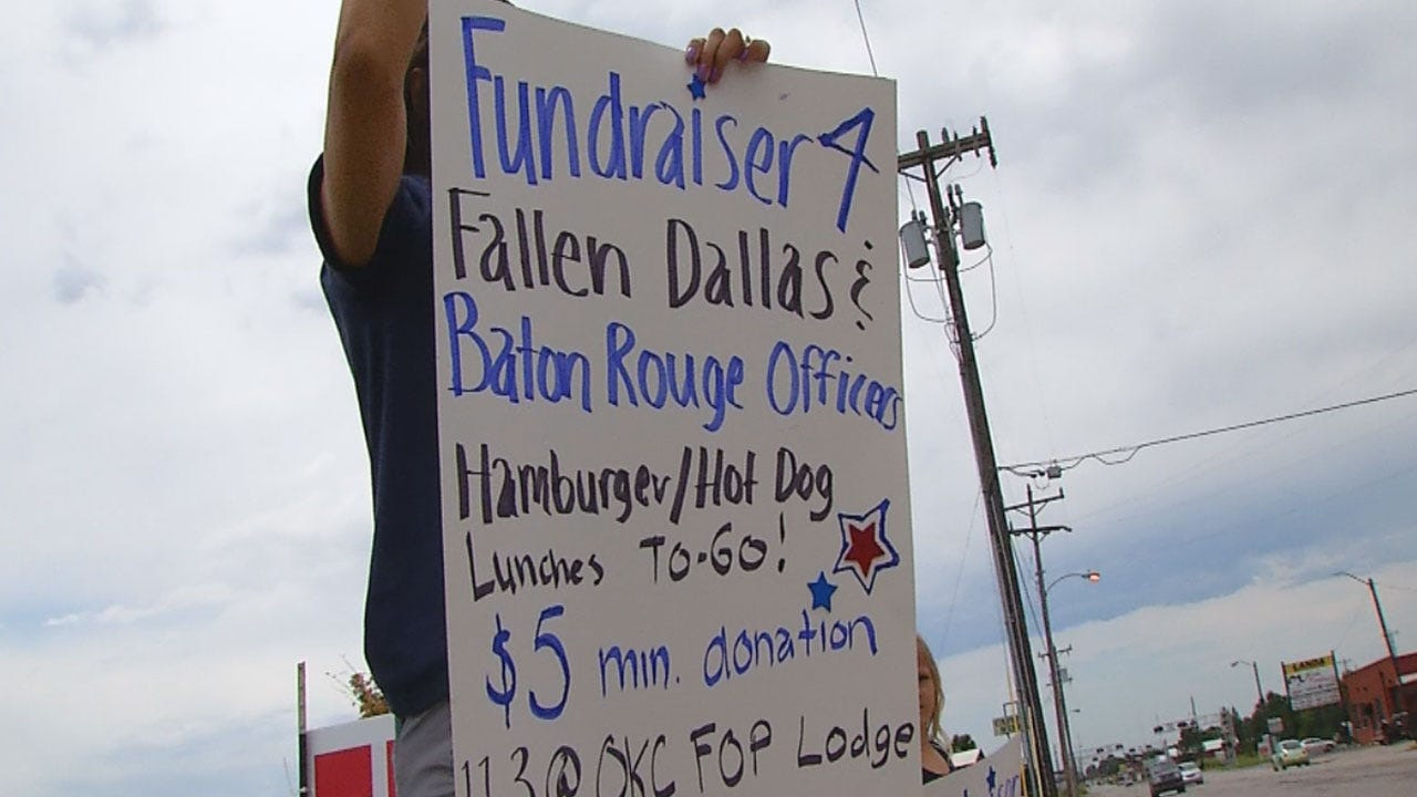 OKC FOP Holds Fundraiser For Families Of Fallen Officers