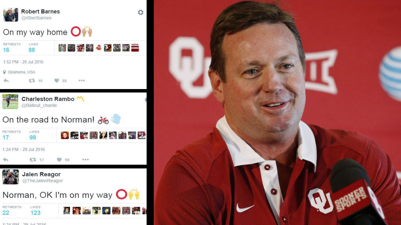 OU Recruits Head to Norman For Barbecue With Bob Stoops