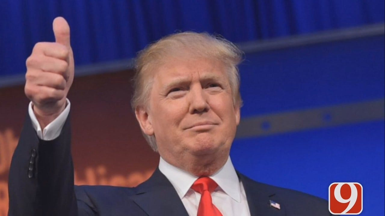 Report: Trump Raised More Funds Than Clinton In Oklahoma