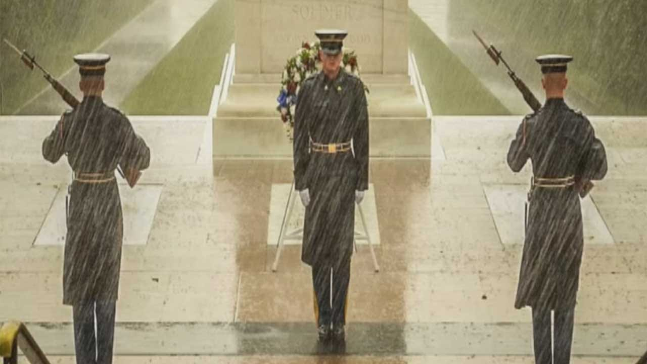 Oklahoma Serviceman Serves As Guard At The Tomb Of The Unknown Soldier