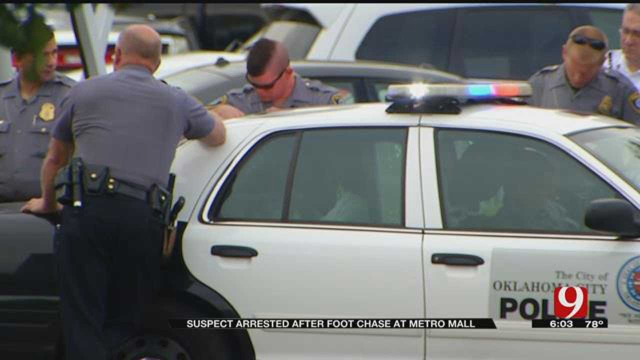 Suspect Arrested After Crashing Van Into Several Cars At Metro Mall