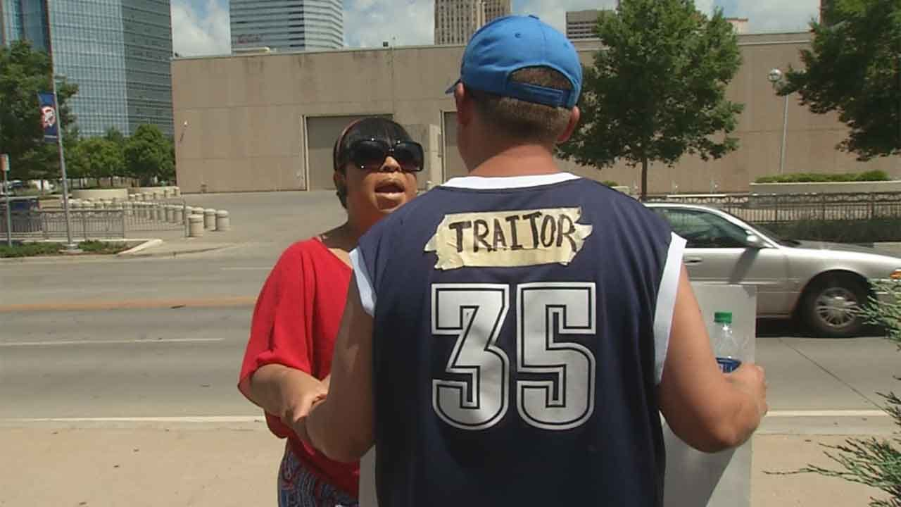 Fans React To Durant's Decision To Leave Oklahoma City
