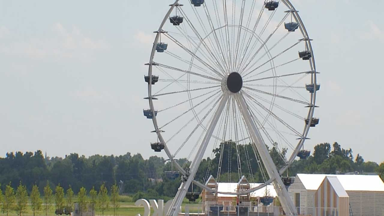 Santa Monica Pier Ferris Wheel Now Spinning In OKC
