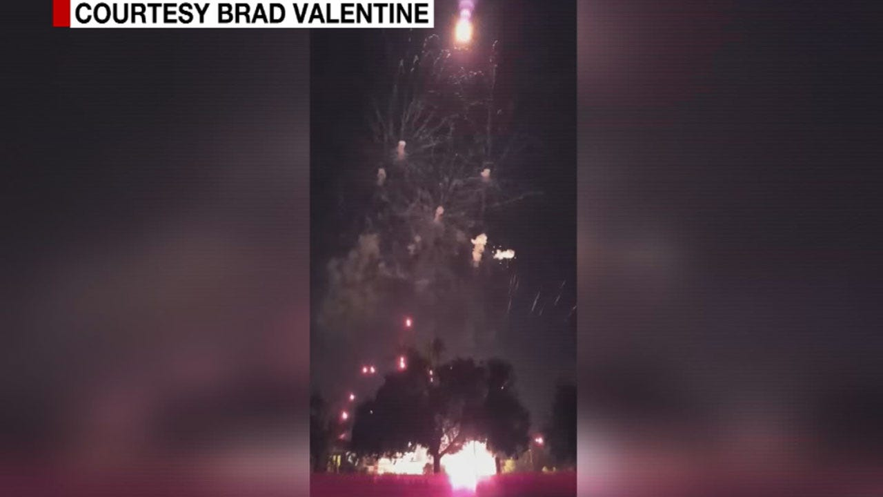 Two Injured During Edmond Fireworks Show