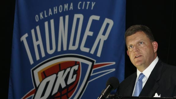 Clay Bennett Writes Letter to Thunder Season Ticket Holders About Durant