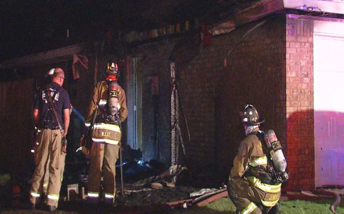 Crews Investigate House Fire In Yukon
