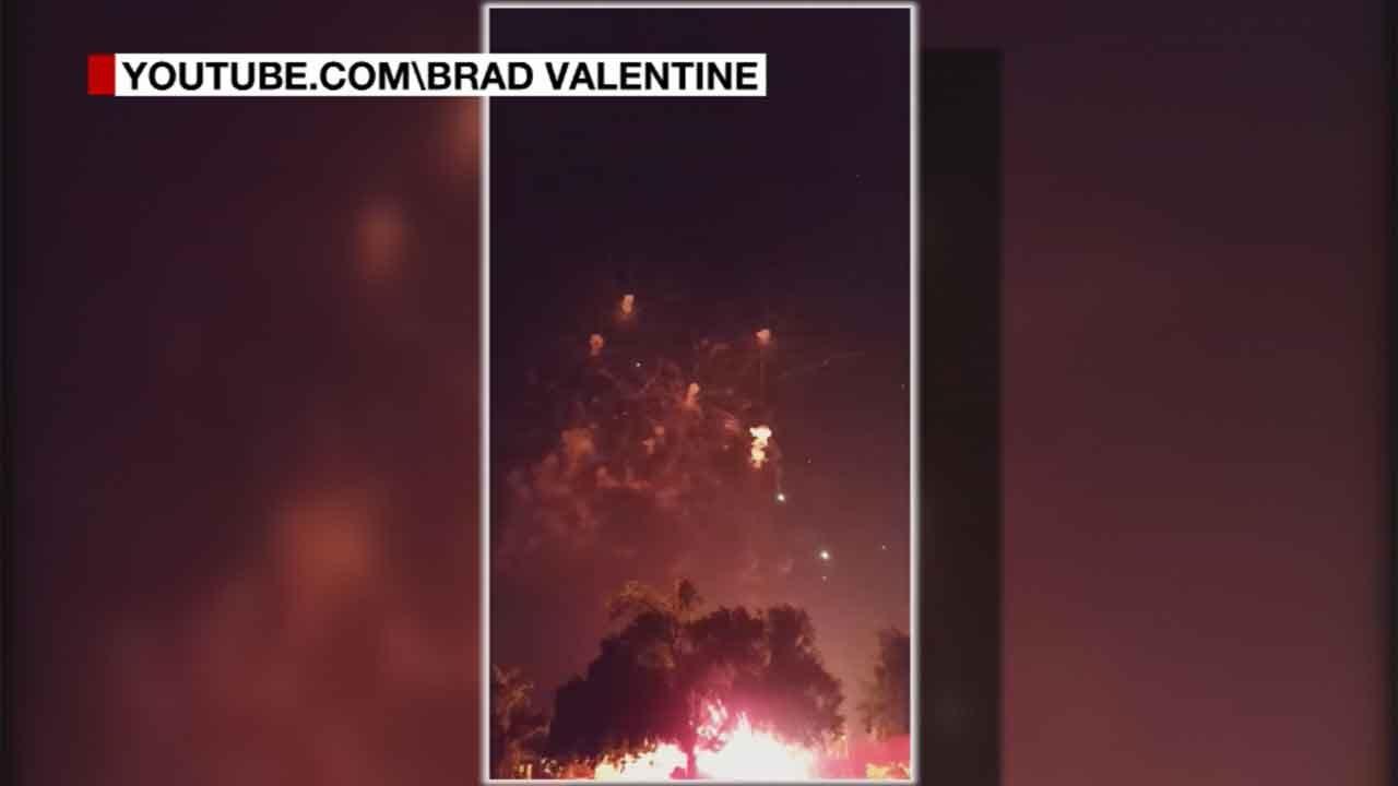 Investigators looking Into Edmond LibertyFest Fireworks Accident