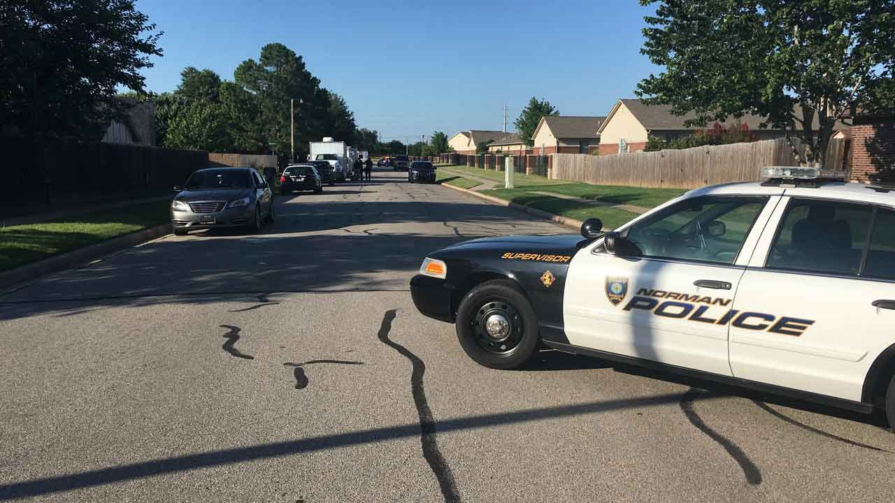 Suspect In Custody After Standoff At Norman Home