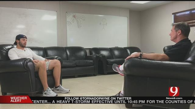 WATCH: Dean Sits Down With OU Quarterback Baker Mayfield