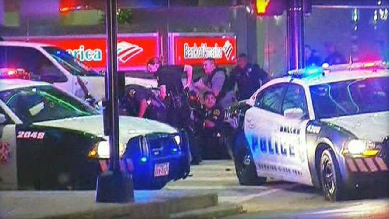 11 Officers Shot At Dallas Protest Against Police Shootings