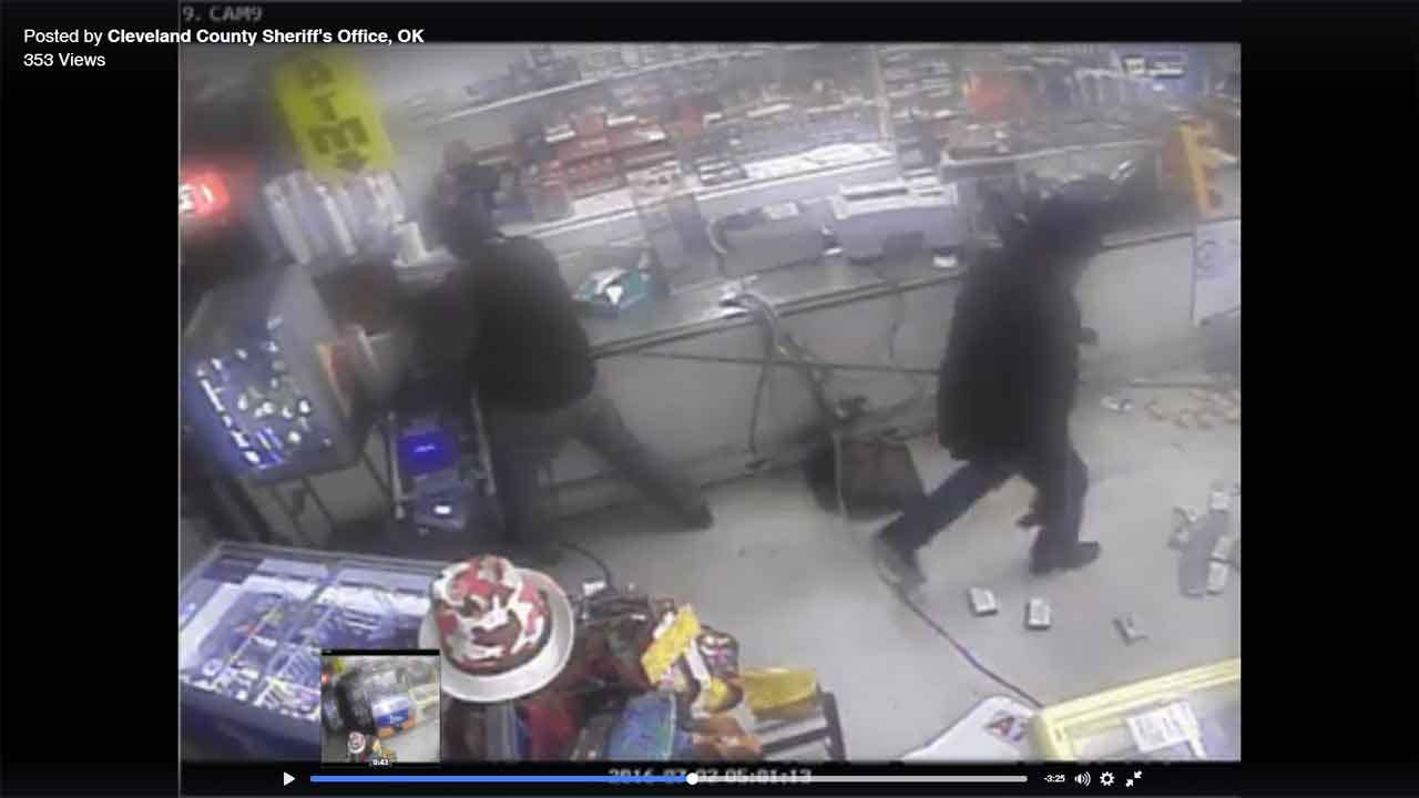 Thieves Steal ATM, Cause Extensive Damage To Cleveland Co. Gas Station