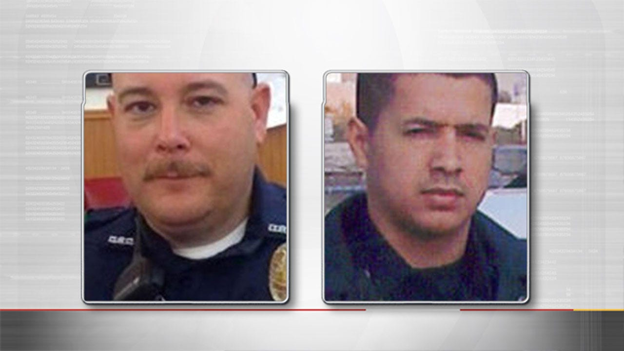 Dallas Officers Shot To Death Include Newlywed, Iraq Veteran
