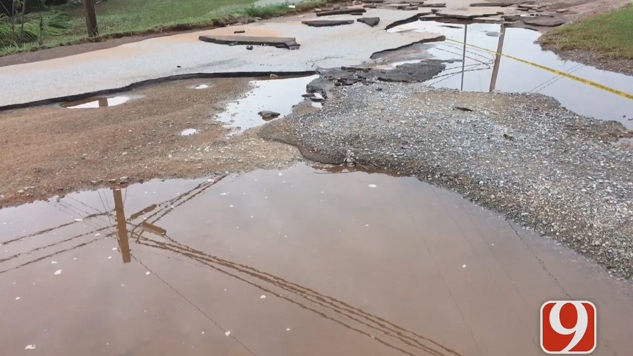Maysville Residents Dealing With Flooding Issues