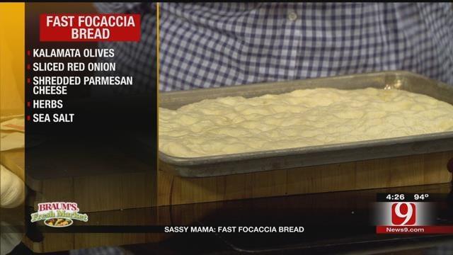 Fast Focaccia Bread