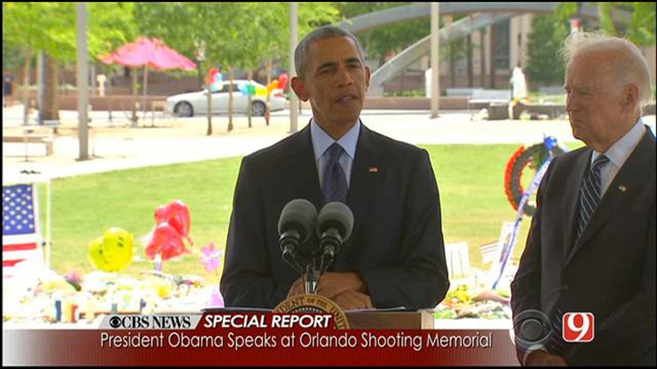 Obama Visits Orlando To Show Victims 'He Is There With Them'