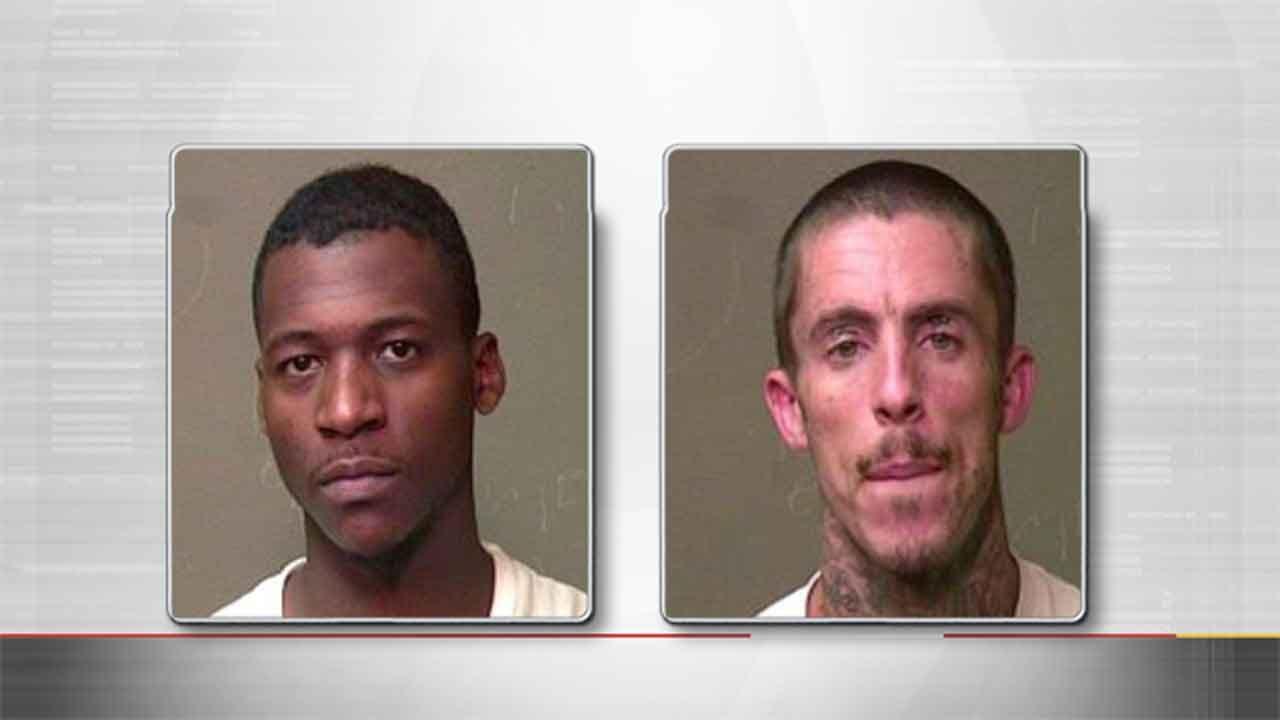 Police Arrest Two Men For Drug Trafficking After Stop In West OKC