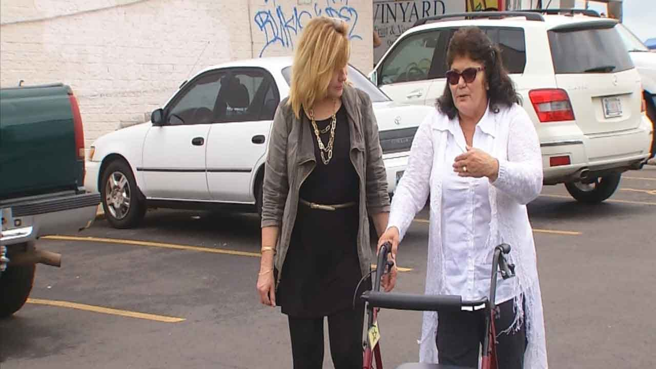 Elderly Woman Speaks Out After Attempted Robbery