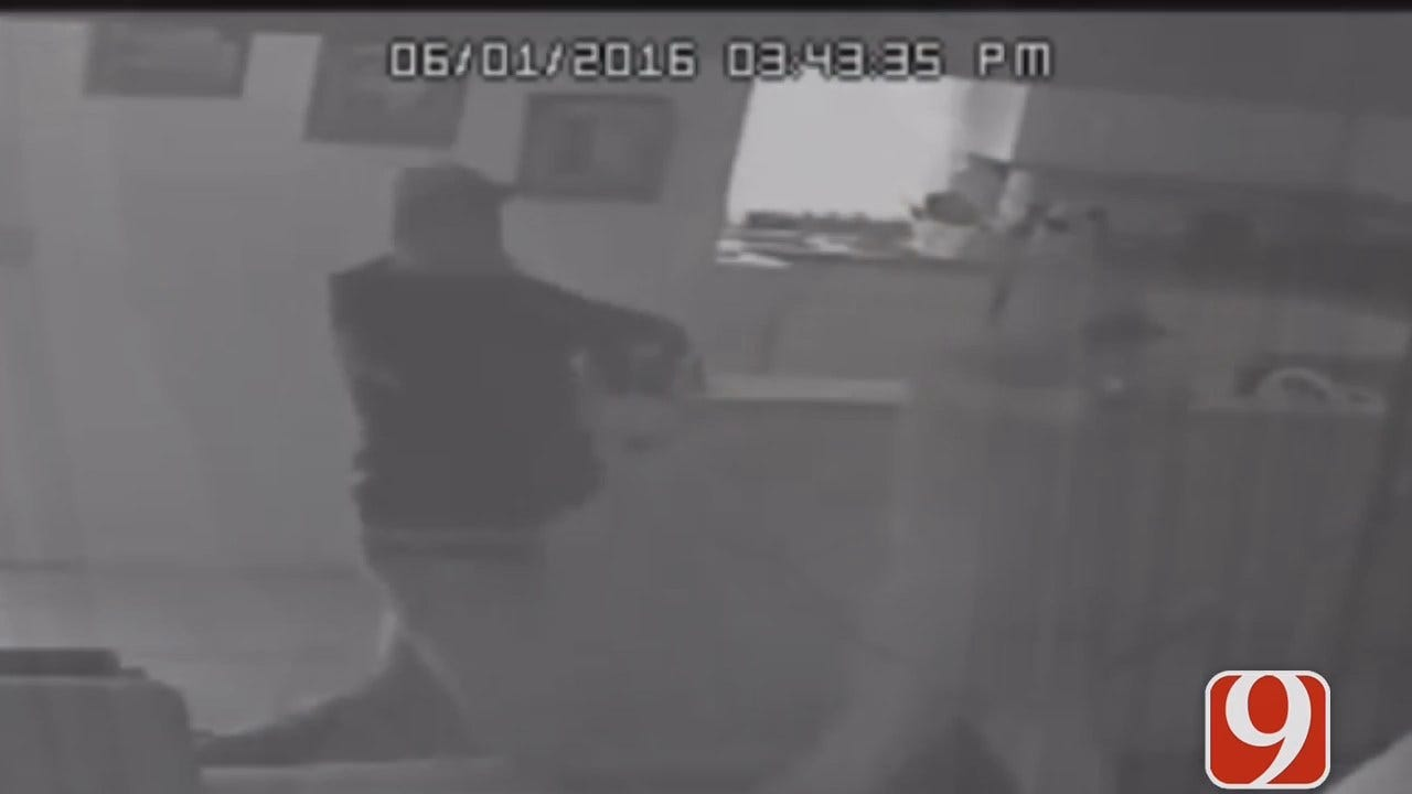 OKC Police Release Surveillance Video Of Home Invasion