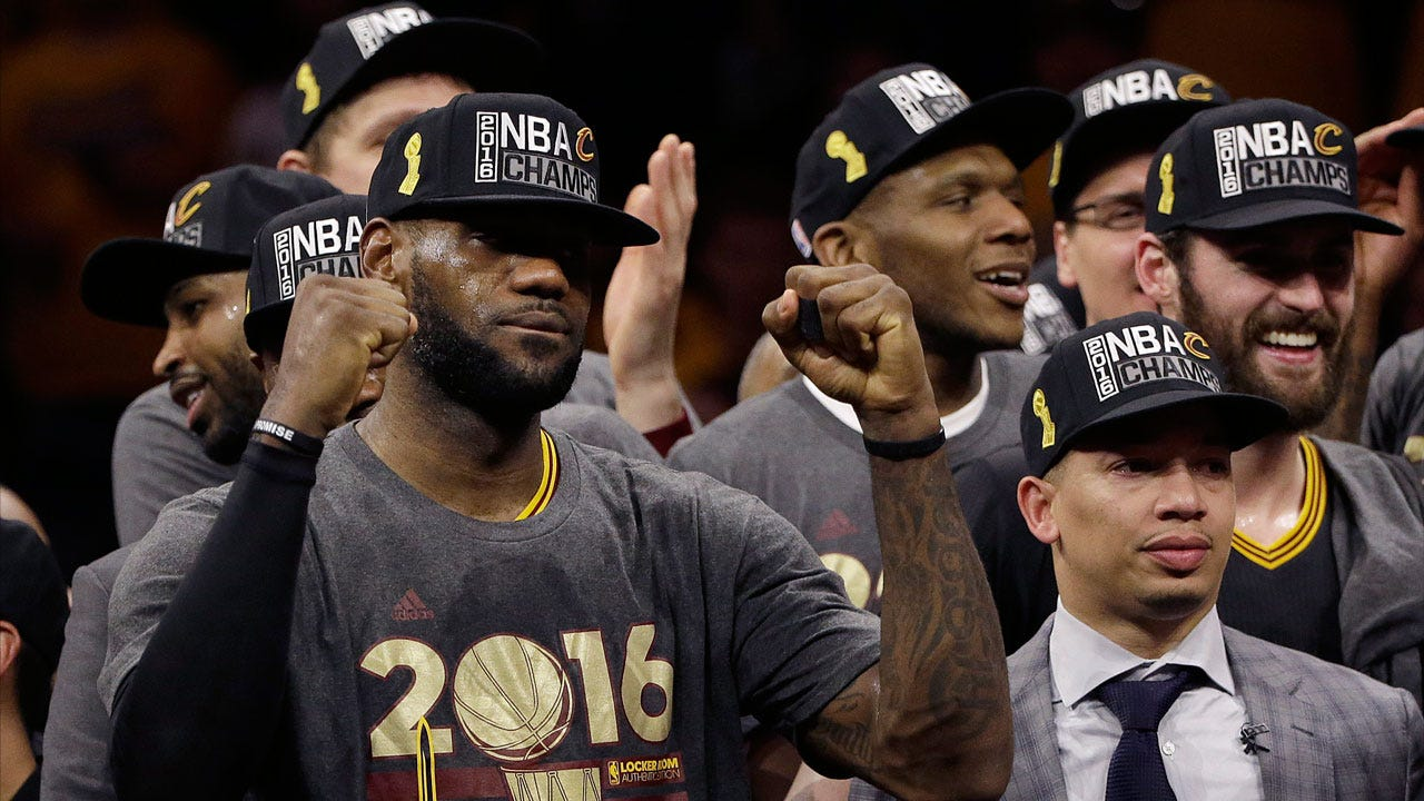 Cavs Make History, LeBron Brings Title To Cleveland
