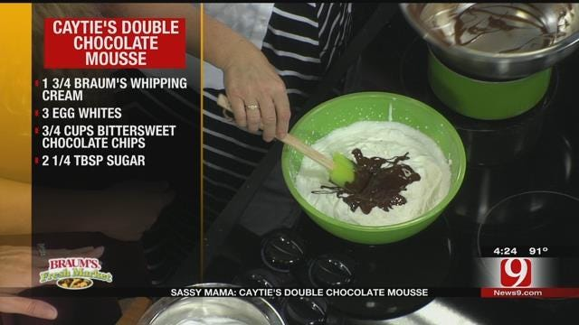 Caytie's Double Chocolate Mousse