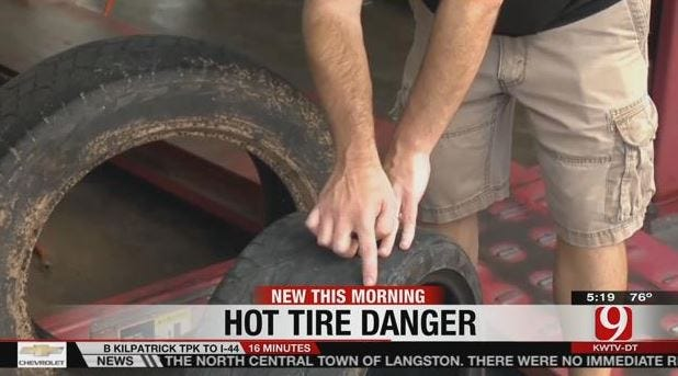 Experts Warn Of Summer Heat And Tire Dangers