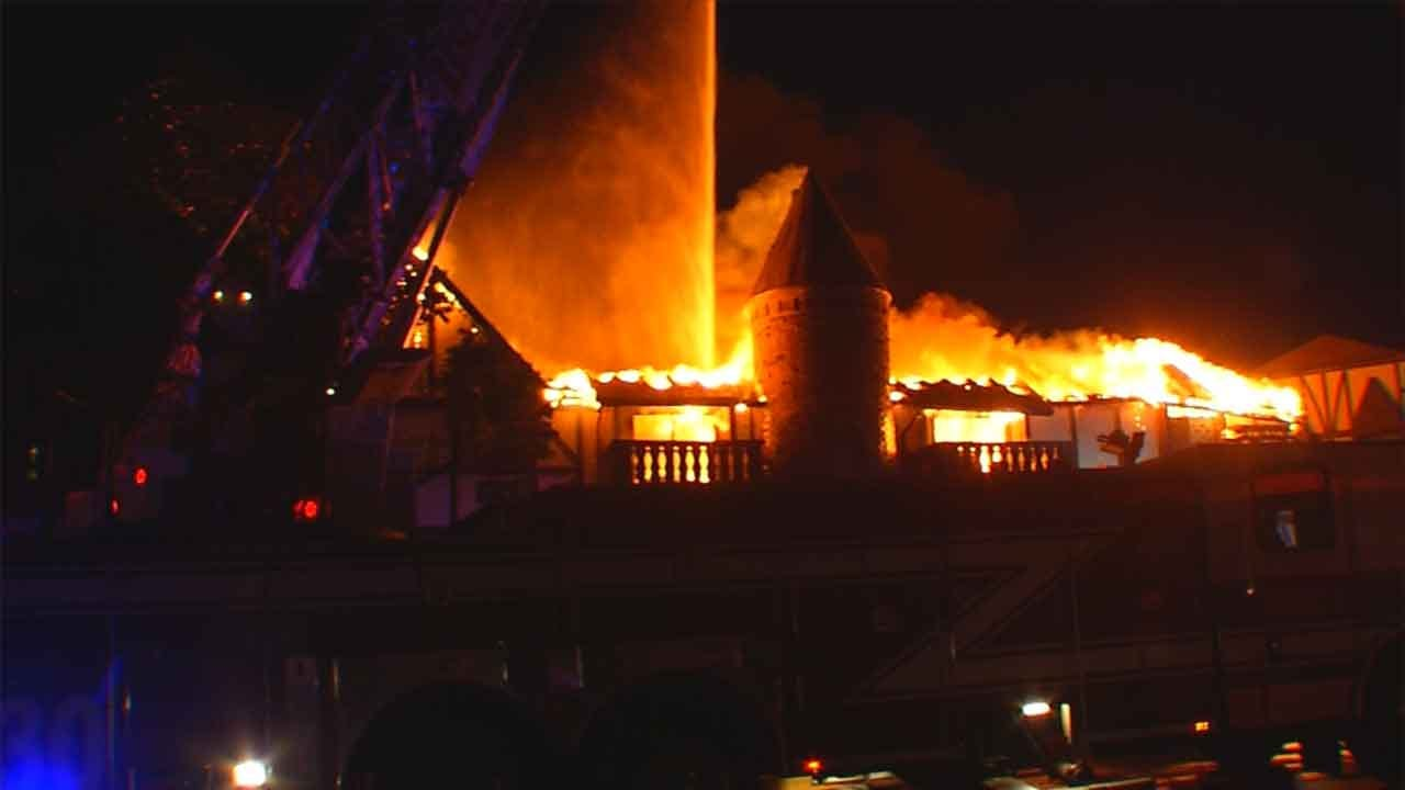 OKC Apartment Complex Decimated By Fire