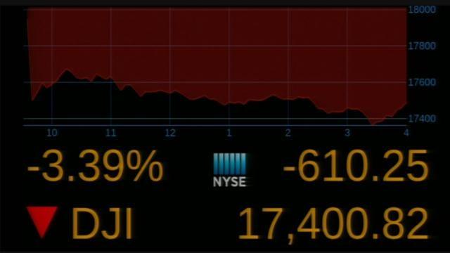 """Global Stocks Plummet After """"Brexit"""" Vote"""