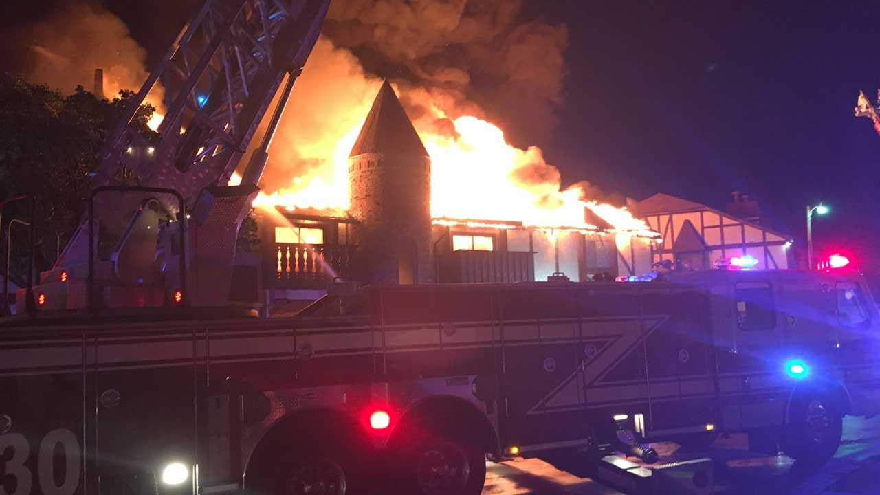 Massive Fire In NW OKC Leaves More Than A Dozen Families Homeless