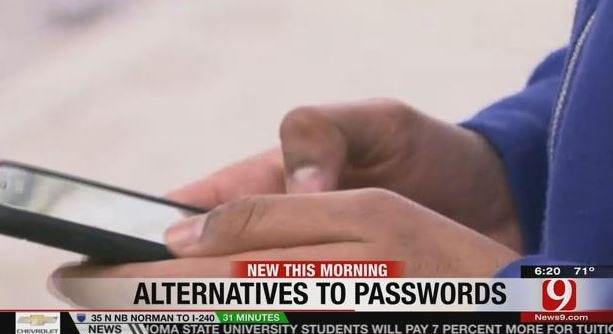 Alternatives To Passwords Could Be In The Near Future
