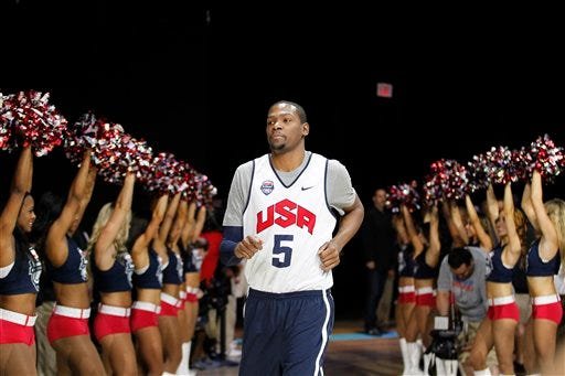 Kevin Durant, Carmelo Anthony Lead New-Look Team USA