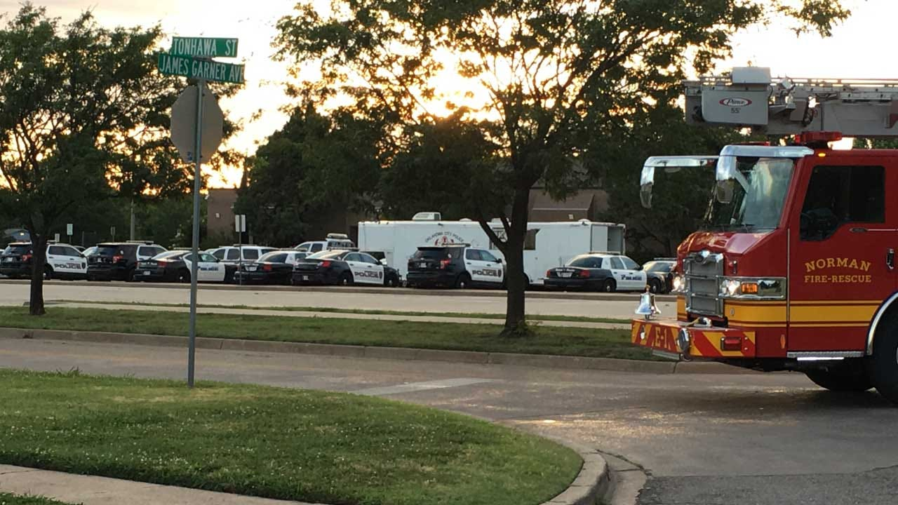 Suspicious Item Found In Front Of Norman PD Deemed Safe