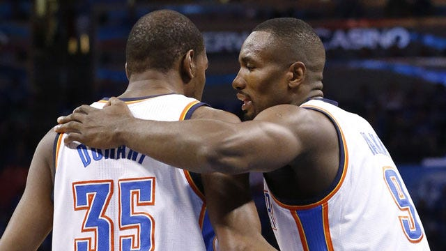 Kevin Durant: Ibaka Trade For Oladipo 'A Good Move'