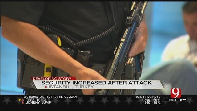 U.S. Airports Increasing Security After Turkey Terrorist Attack