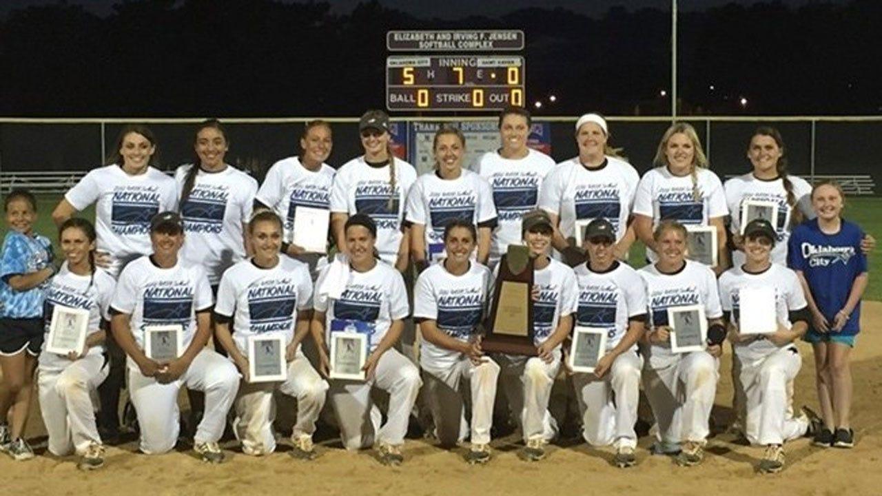 OCU Softball Wins Ninth National Title