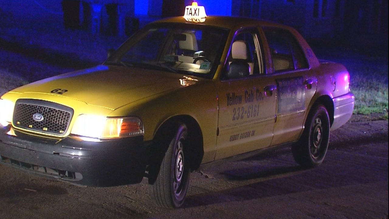 OKC Police: 14-Year-Old Teen Steals Taxi, Leads Officers On Chase