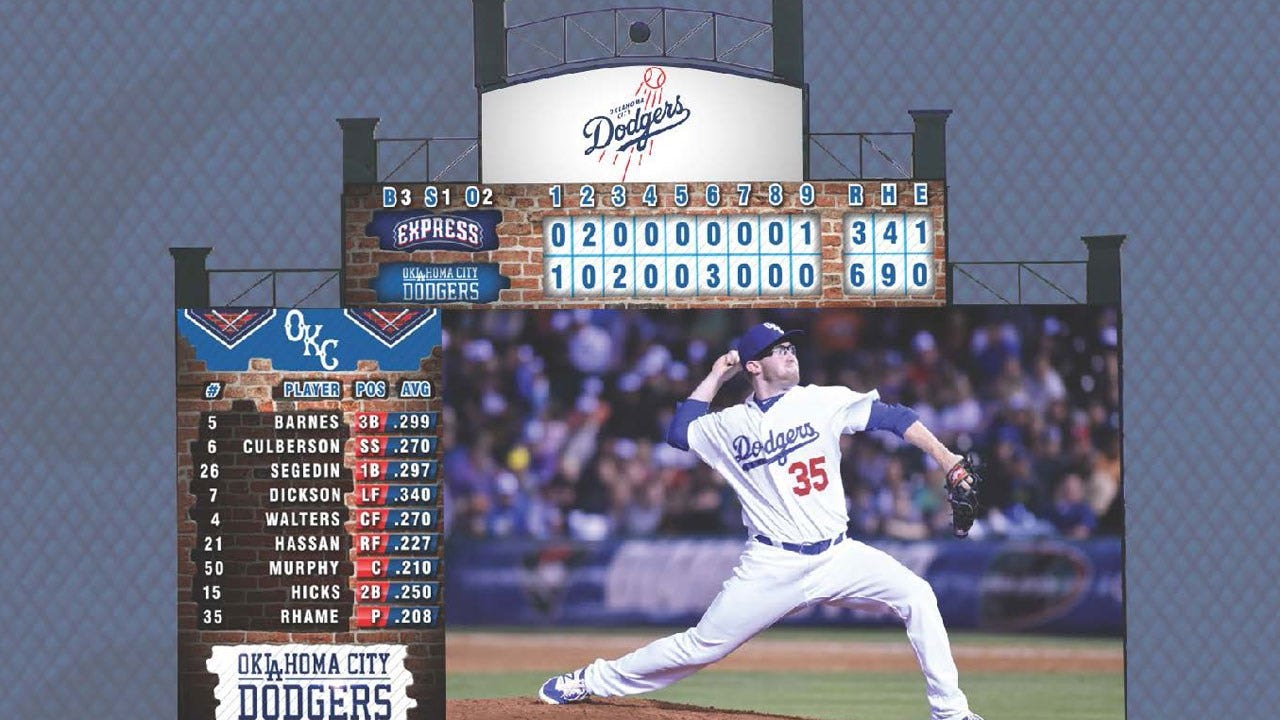 Dodgers Announce Addition of Center Field Digital Video Board
