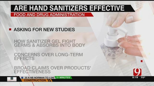 FDA Reviews Effectiveness Of Hand Sanitizers