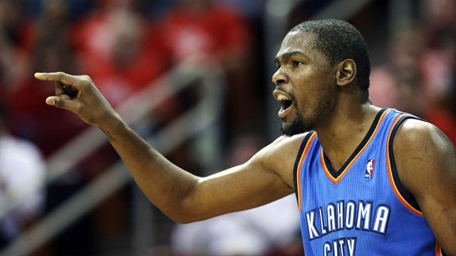 Kevin Durant To Meet With Thunder