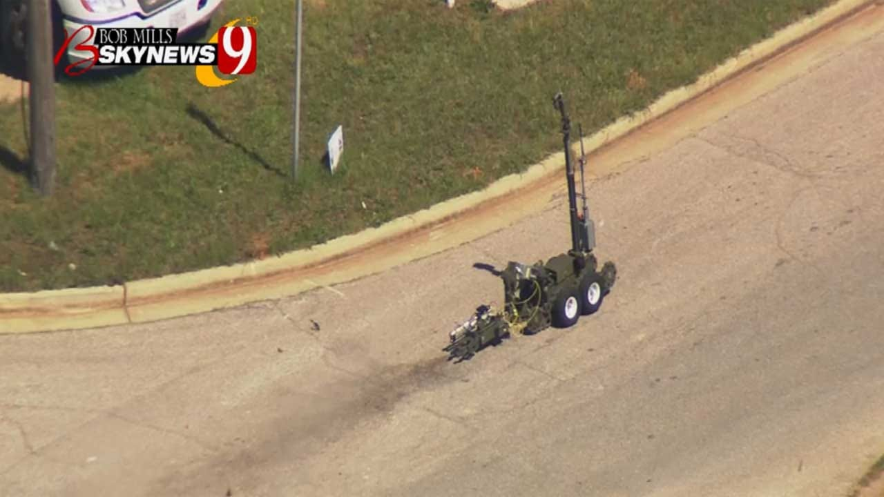 OKC Police To Examine Remains Of Pipe Bomb Found In NE OKC
