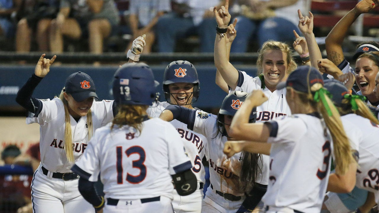WCWS: Auburn's Walk-Off Grand Slam Forces Decisive Game 3 For Title