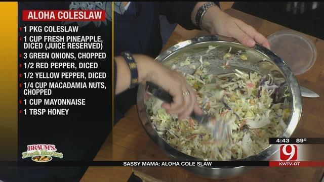 Aloha Coleslaw