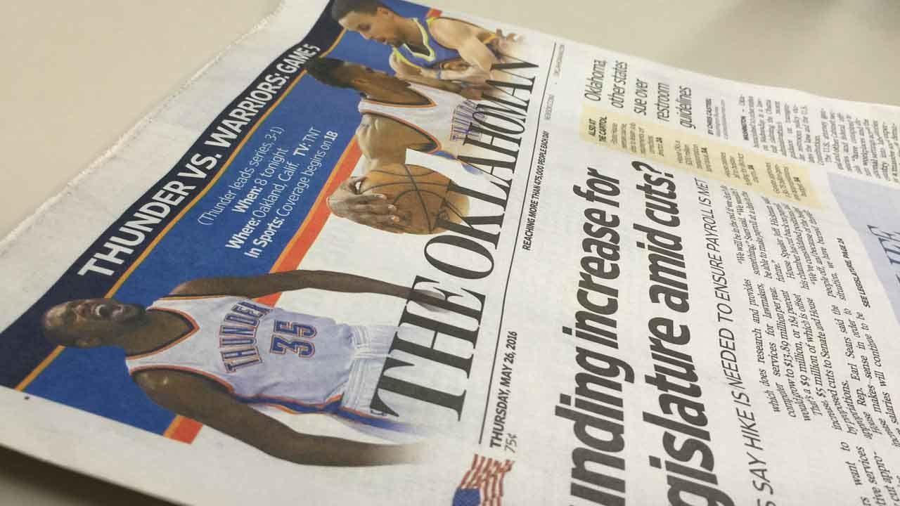 The Oklahoman To Eliminate 130 Positions
