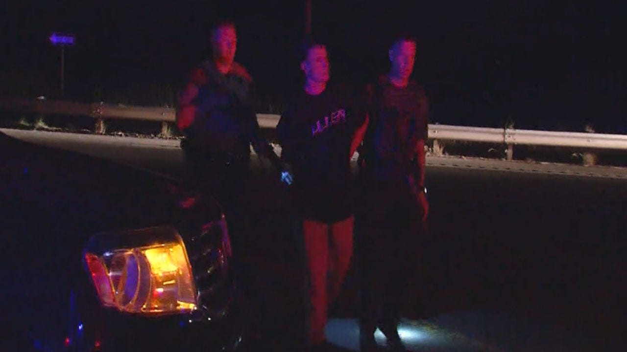 Three Arrested Following Police Chase In El Reno